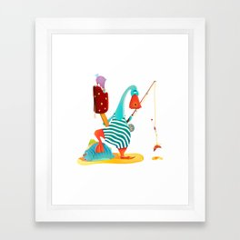 Some Summer Day Framed Art Print
