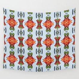 Royal Poinciana OP Pattern Wall Tapestry