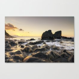 Atmosphere at sunset | Sicily Canvas Print