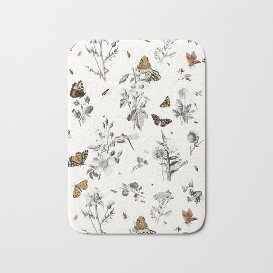 Insect Toile Bath Mat