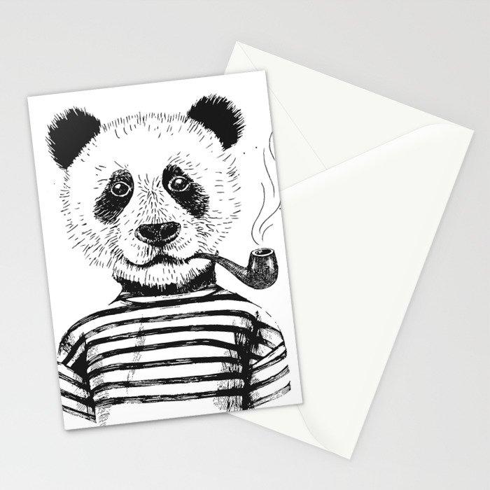 Yeah I am a Panda Stationery Cards