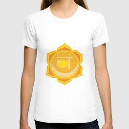 Sacral Chakra Svadhishthana Chakra T-shirt