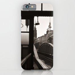 BERLIN TELETOWER - urban landscape iPhone Case