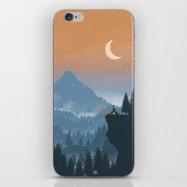Camping spot iPhone Skin