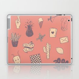 This Is Not A Love Story Laptop & iPad Skin