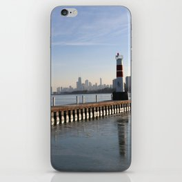 Montrose Harbor in the Winter iPhone Skin