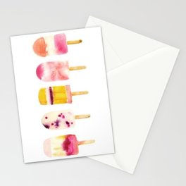 My Popsicle Melted Stationery Cards