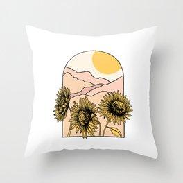 Desert Calling Throw Pillow