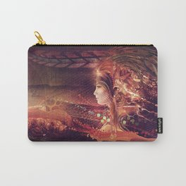 Shadow Of A Thousand Lives - Digital painting - Manafold Art Carry-All Pouch