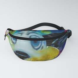 The colourful rabbit Fanny Pack