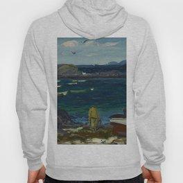 The Harbor, Monhegan Coast, Maine, 1913 Hoody
