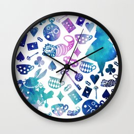 Alice in Wonderland - Galaxy W Wall Clock