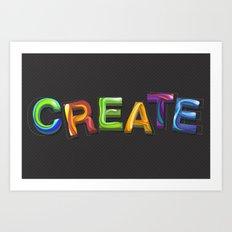 Create! Art Print