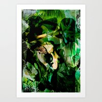 witchcraft Art Prints featuring Witchcraft by Artwork-Fusions
