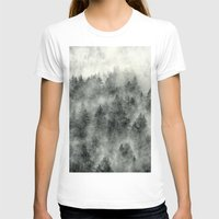wolf T-shirts featuring Everyday by Tordis Kayma