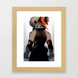 KATSUKI BAKUGO - MY HERO ACADEMIA Framed Art Print