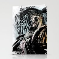 thranduil Stationery Cards featuring Thranduil by Melo Monaco