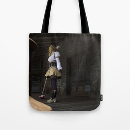 Sorry to rain on your parade, but I'm going to finish you off right here! Tote Bag
