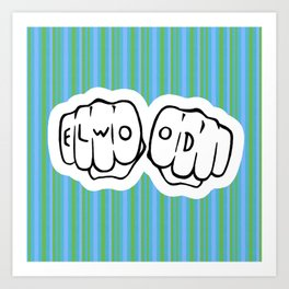 [ Blues Brothers ] Elwood Blues Dan Aykroyd Art Print