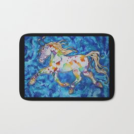 Ride the Rainbow Bath Mat