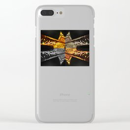 Four Corners Continued (Tokyo Tower) Clear iPhone Case