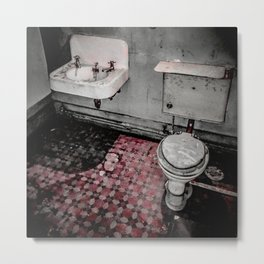 Servants' Accomodations / Floor Metal Print
