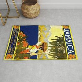 Poster travel Jamaica Rug