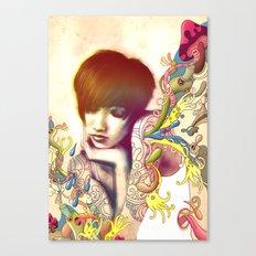 Inspiration Evaporation Canvas Print