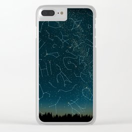 There IS somebody out there! Clear iPhone Case
