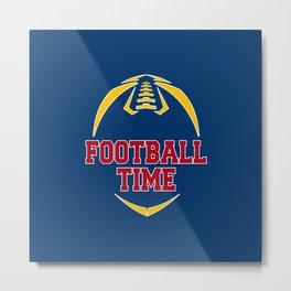 Football Time Metal Print