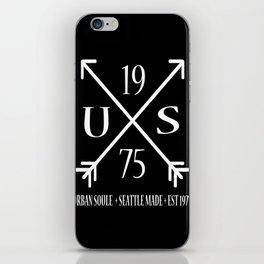 US Arrow Logo iPhone Skin