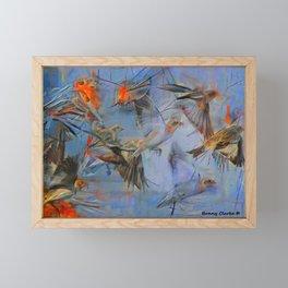 A Forecast of Sudden Flurries Framed Mini Art Print