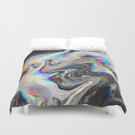 CONFUSION IN HER EYES THAT SAYS IT ALL Duvet Cover