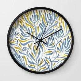Weeds I Wall Clock