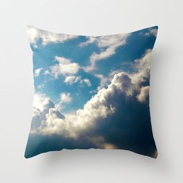Cloud Pillows Throw Pillow