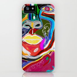 A KELLI OF MANY COLORS iPhone Case