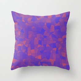 Geometric Shapes Fragments Pattern 2 pp2 Throw Pillow