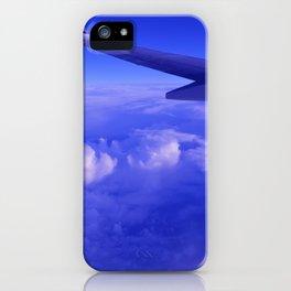 Aerial Blue Hues II iPhone Case