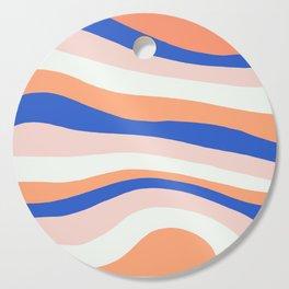 sunrise surf Cutting Board