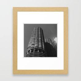Marina Towers, Chicago Framed Art Print