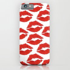fire engine red lips Slim Case iPhone 6s