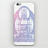 sacred geometry iPhone & iPod Skins featuring Sacred Geometry 2 by Hazel Bellhop