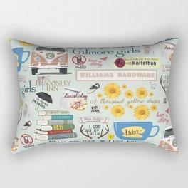 Gilmore Girls Collage Rectangular Pillow