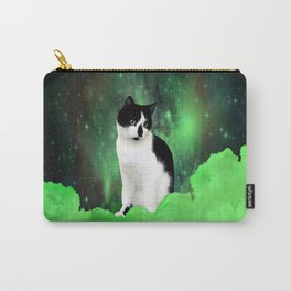 Gypsy Da Fleuky Cat and the Kitty Emerald Night Carry-All Pouch