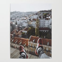 Legs w/ a view Poster