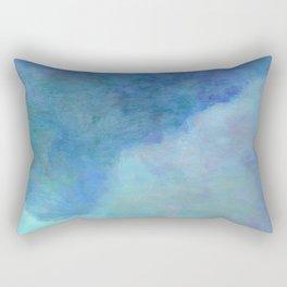 Minimal Mountain- - 遠望 series - oil-paint Rectangular Pillow