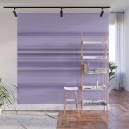 Pantone Purple Stripe Design Wall Mural