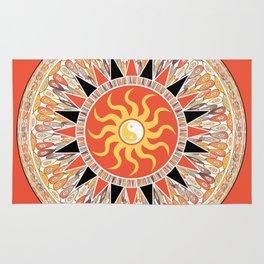 Sunshine mandala Rug