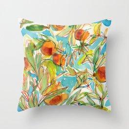 Naranjo Throw Pillow