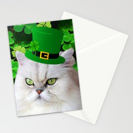 St. Patrick's Day Irish Cat Stationery Cards